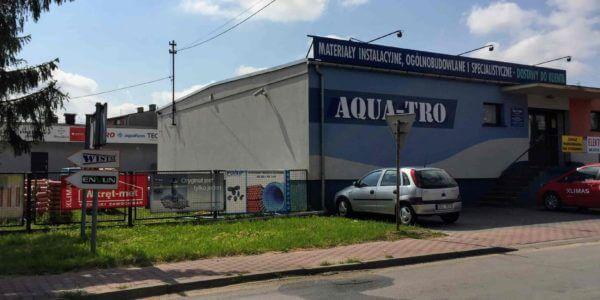 budynek hurtowni aquatro