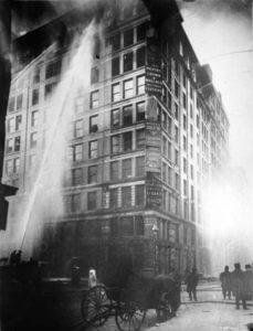 pożar triangle shirtwaist factory w Nowym Yorku