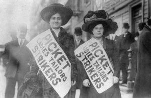 Strajki kobiet w Nowym Yorku