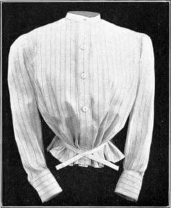szmizetka, rodzaj bluzki damskiej noszonej w XIX w.
