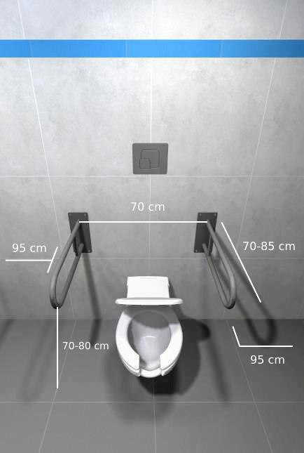 strefa wc wymiarowanie