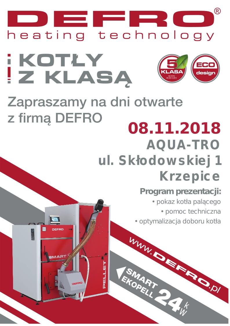 dzień otwarty firmy Defro w aquatro