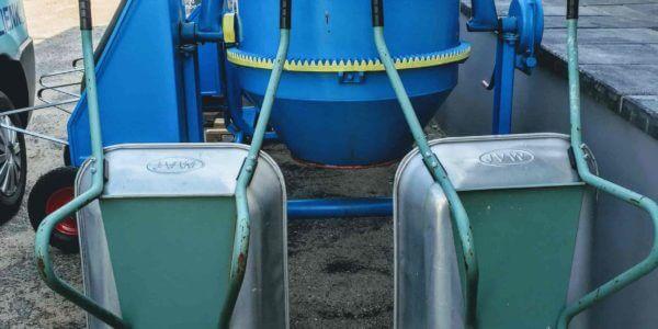 taczka i betoniarka